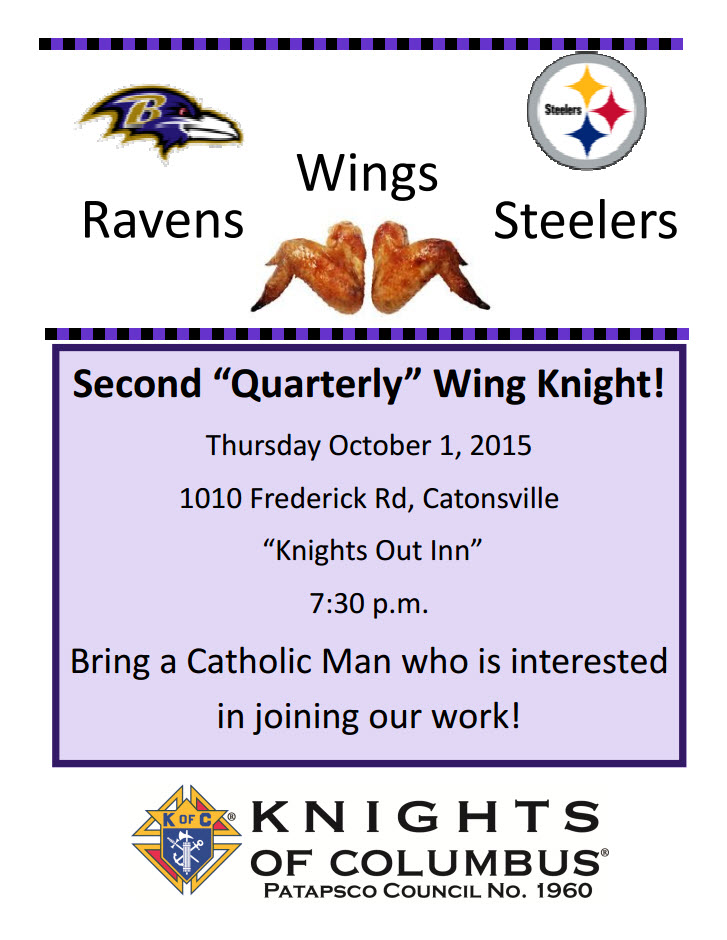 Wing Knight II - October 2015